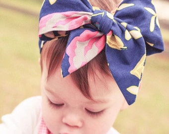 Anna Banana The Bow Headband pdf pattern