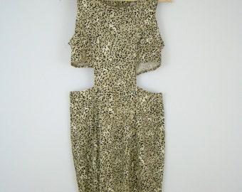 90s Cheetah Maxi Dress