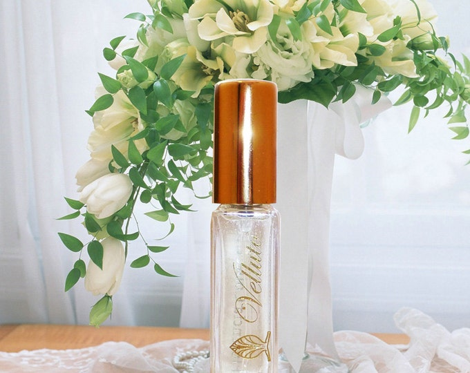 Perfume Velluto by Florencia; Light Fresh Floral Fragrance for Women; Florencia Collection Life is Beautiful; Unique Natural Fragrance Oils