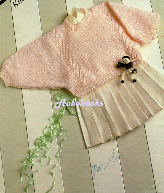 Batwing Knitting Pattern : baby dolman sweater knitting pattern batwing jumper by Minihobo