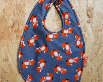Last one - SALE 25% - Bib 'Take a walk on the wild side'