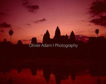 Morning light - Angkor Wat, Cambodia, 2007