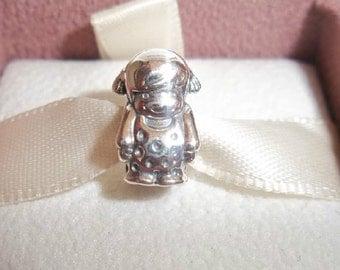 New!!   Authentic Genuine Pandora Precious Girl Sterling Silver Charm 791531 NEW
