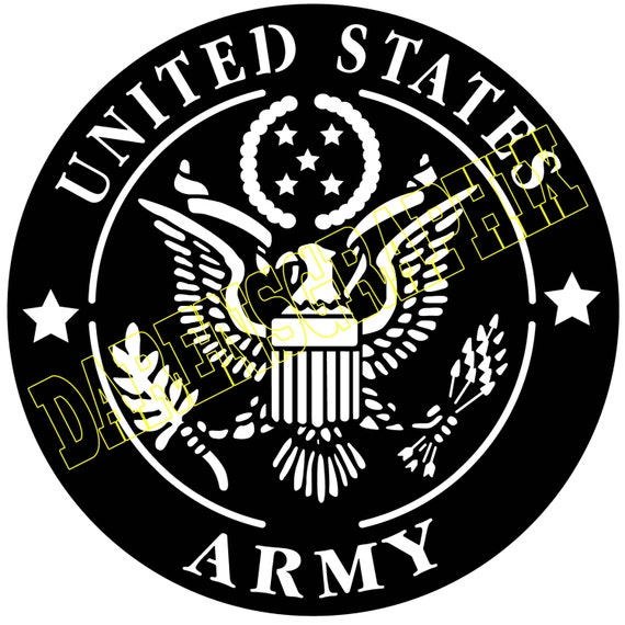 Dxf File Of The U S Army Emblem For Use With A Cnc Machine
