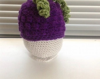Crochet Grape Hat
