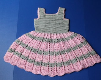 Cotton crochet dress