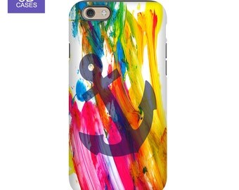 iPhone SE Cases, Best iPhone SE Cases, Cute iPhone SE Cases - Colorful Paint Design, Case for iPhones and Galaxy