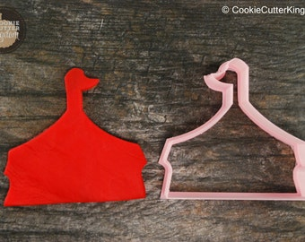 Circus Tent Cookie Cutter, Mini and Standard Sizes, 3D Printed