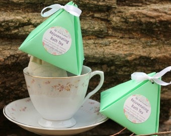 Aromatherapy Bath Tea - Rejuvenating Green Tea & Rosemary