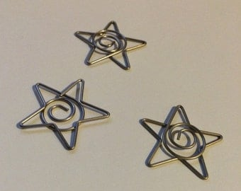 Star clips - perfect for december!