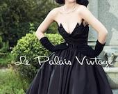 Black Swan dresses,Retro Dress-black-Tuxedo Dress-Ball Gown- Sweetheart prom dress- Plus Size-Black wedding dress ,50s sexy dress