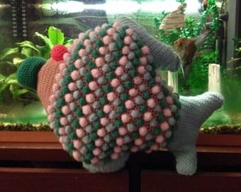 Fish cushion / Cushion crochet /Handmade