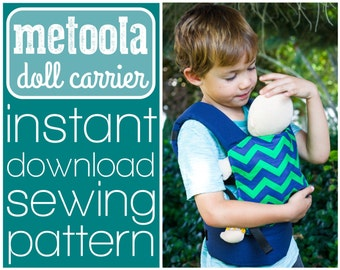 Metoola baby doll carrier sewing pattern (INSTANT DOWNLOAD)