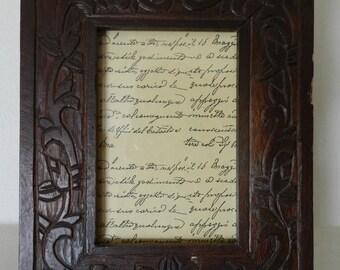Very antique photo frame