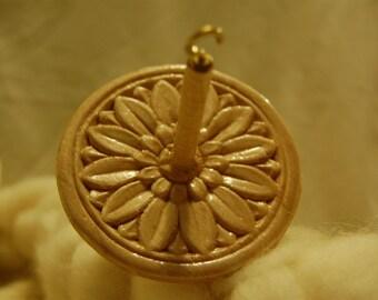Handmade, top whorl, drop spindle