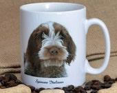Spinone Italiano Dog Breed Photo Quality Ceramic Mug Dishwasher Safe & Microwave Proof