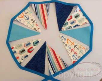 Nautical, Seaside Bunting