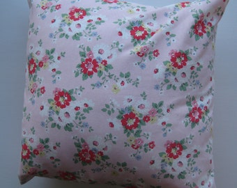 Pink Flower Cushion Cover (Cath Kidston fabric)