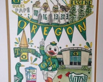 University of Oregon Women's Lacrosse