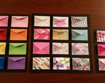 Custom Miniature Envelopes with Inserts-Perfect for Tooth Fairy Letters and Lunchbox Notes!!