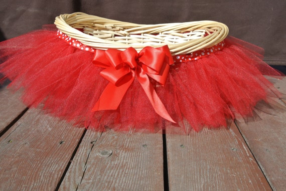 how to make a tutu basket