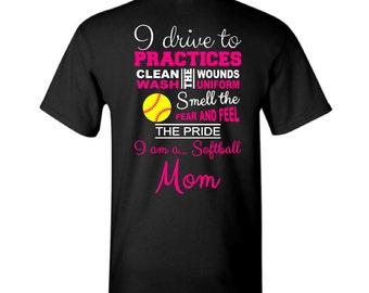 Custom Baseball Mom Shirts Hoodies Tank Tops amp More