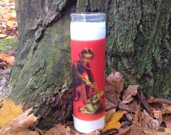 Krampus Candle