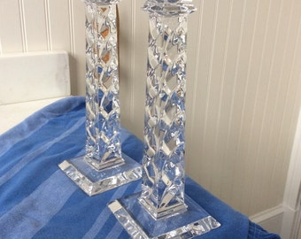 Crystal Cande Holders