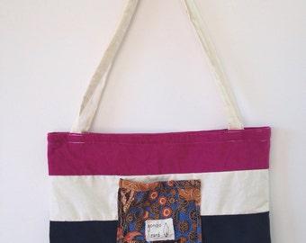 Beach bag medi size tote bag everyday bag shoulder bag