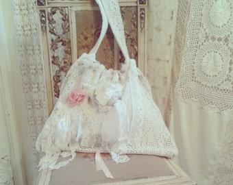 Shabby Chic, Boho, Victorian Bag