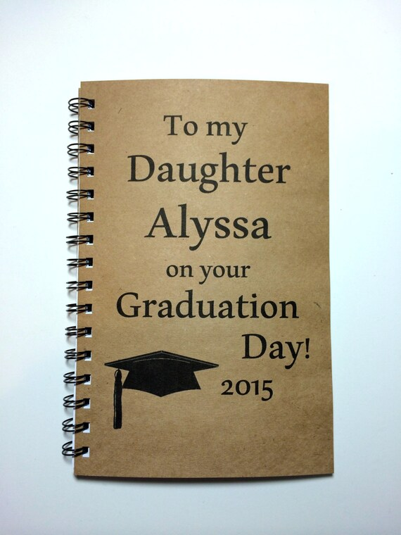 Graduation Gift Daughter Graduation Notebook To Daughter