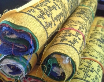 Small, Tibetan Prayer Flags, Meditation