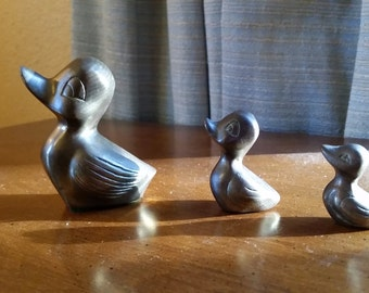 Instant Collection 3 Brass Ducklings