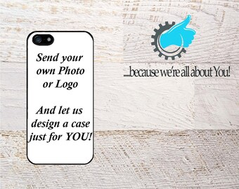 Fully Customized iphone case, Use Your Photo or Logo! Personalized Case For iPhone SE 6 6S 7 8 and Plus