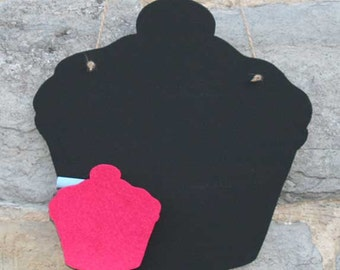 Cupcake Chalk Blackboard, ideal for messages in the dinning room or kitchen