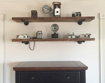 Industrial shelf, metal pipe shelf, industrial shelves