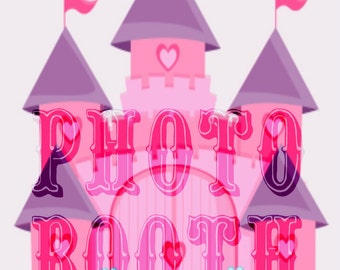 Princess Castle Photo Booth Sign