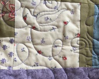 Lavender fields quilt