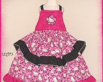 Pink leopard dress - Etsy