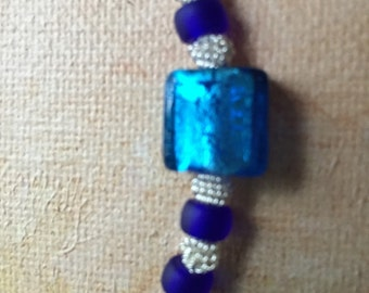 Blue crush necklace