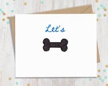 Mature 5x 7 Let's Bone - Funny Valentine's Day Card - Card for Partner - Husband - Boyfriend - Wife - Girlfriend -  FourLetterWordCards
