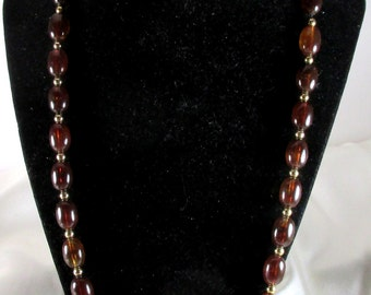 Avon Turtle Bay Vintage Beaded Necklace