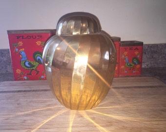 Gorgeous brass urn