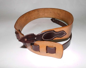 Personalized Leather Guitar Strap Custom made.