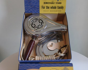 Vintage Handy Hannah Hair Dryer in Original Box