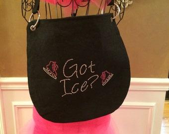 Custom Got Ice Messenger Bag
