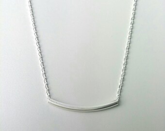 Ras neck necklace / 925/000 silver / necklace silver massive 925, end - Necklace sterling silver 925 - ras of the neck end and feature Silver 925
