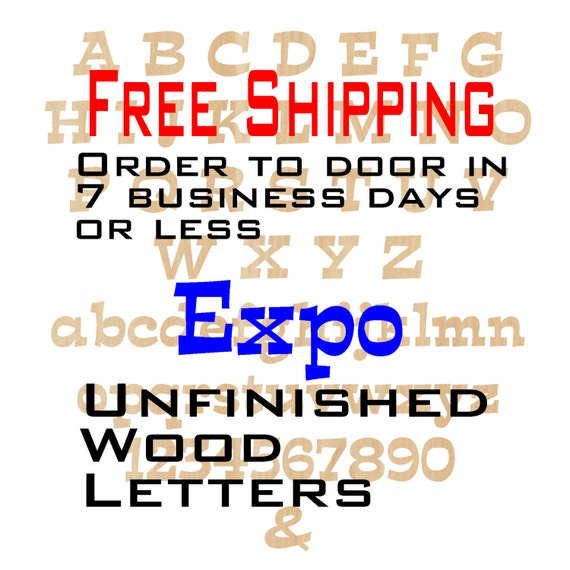 Unfinished Wood Letters Numbers, Free Shipping, Expo, Wood Craft, laser cut wood wood, &, birch, wooden, wall, DIY, Wedding