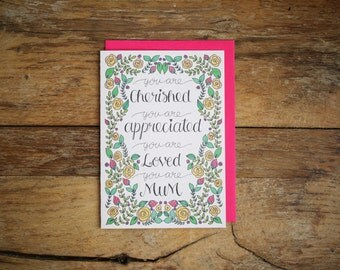 You Are Mother's day Card