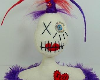 Soft Art Doll Sculpture